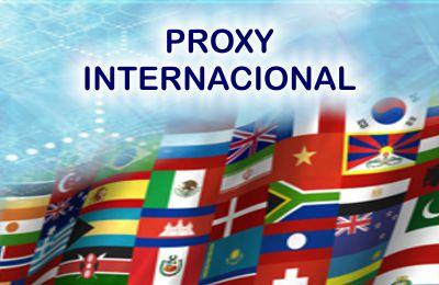 Servidor Proxy Internacional