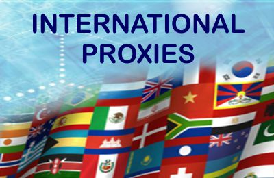 International proxy server